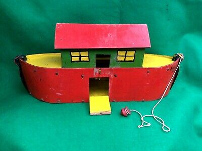 1Set Vintage Steam Boat Pop Pop Candles Powered Put Ship Collectable Toy Gift BL