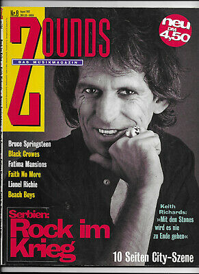 Zounds Nr.8 von 1992 Ike & Tina Turner, Rolling Stones, Black Crowes, Incognito