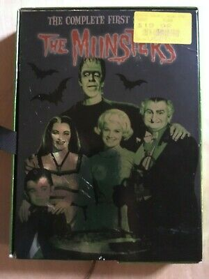 The Munsters - The Complete First Season (DVD, 2013) USED