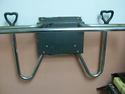 X-ray apron hanger with glove holders. Heavy duty Wall mount.