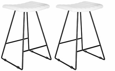 Stupendous Safavieh Fox2011 Set2 Pu Akito 17 Wide Two Piece Iron Gmtry Best Dining Table And Chair Ideas Images Gmtryco