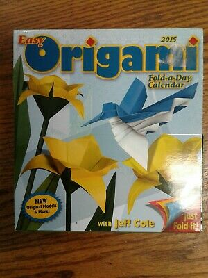 Easy Origami Fold-a-Day Calendar (2015) with Jeff Cole