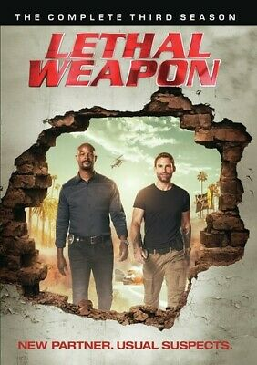 Lethal Weapon: Complete Third Season (REGION 1 DVD New)