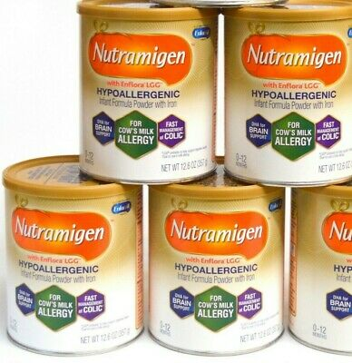 4 x Nutramigen w/Enflora LGG Powder Can, 12.6 OZ Jun/2020 only 4 cans left