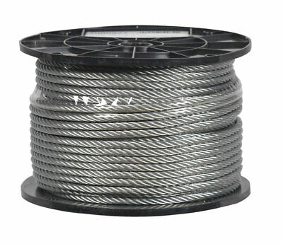 """Cable 1/4"""" 7X19 Galv"""