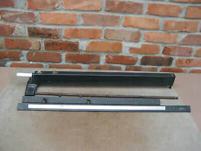 """VTG Sears Craftsman 10"""" model 113.299040 Table saw Fence Assembly & Rails 477X"""