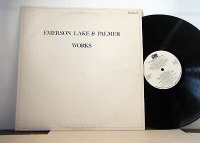 EMERSON LAKE AND PALMER  LP  Works Vol.II  1977 Atlantic elp