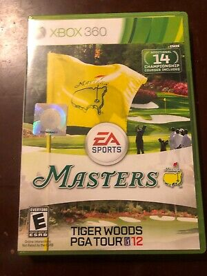 Tiger Woods PGA Tour 12: The Masters for Microsoft Xbox 360 / 2011 / Complete