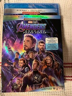 Avengers: Endgame Blu-ray + Digital Code Marvel Studios Multi-screen Edition