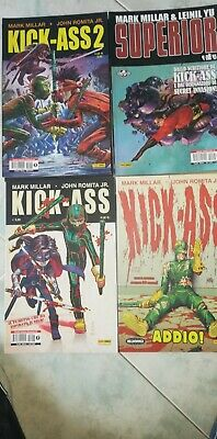 Mark MillerWorld Completo KickAss 1, 2, 3 - Superior - Super Crooks - Nemsis ecc
