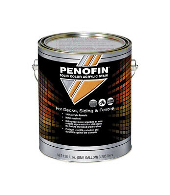 Penofin  Solid  Tintable Medium  Acrylic  Deck, Siding and Fence Stain  1 gal.