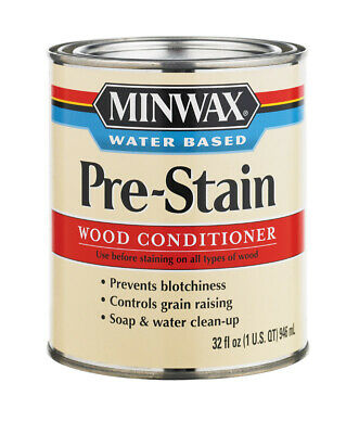 Minwax  Water-Based  Pre-Stain Wood Conditioner  1 qt.