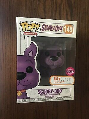 Funko Pop! SCOOBY DOO #149 Purple Flocked BoxLunch EXCLUSIVE Box Lunch *IN HAND*