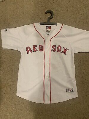 Boston Red Sox '38' Majestic MLB Cool Base Replica Jersey - White