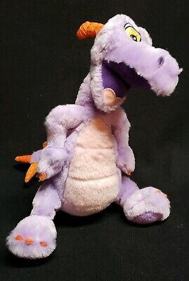 Walt Disney World Epcot Figment Purple Dragon Plush Toy