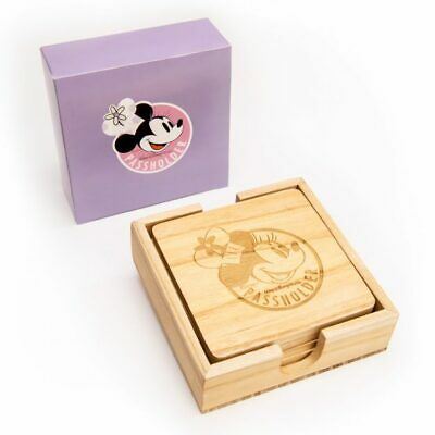 Epcot Food And Wine Festival Passholder Chef Minnie Coaster Set
