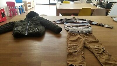 2-3 years boys winter outfit. Winter jacket. Brands including C&A