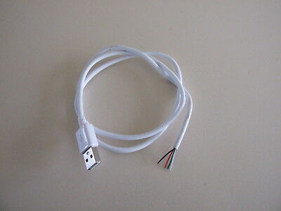 USB Plug to wire ended cable 70cm