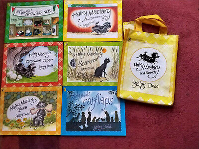 6 Hairy Maclary Stories with Bag by Lynley Dodd. (Rhyming Books).3 years+.
