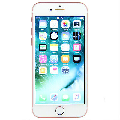 Apple iPhone 7 a1778 32GB Rose Gold T-Mobile GSM Unlocked -Excellent