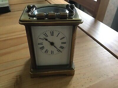 Brass Carriage Clock ( In Working Order).