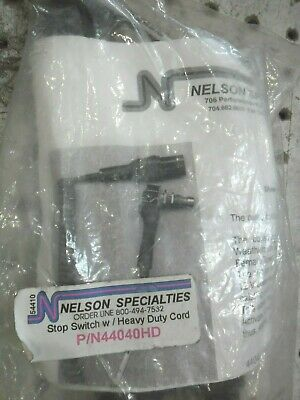 Nelson Specialties P/N 44040Hd Kill/Stop Switch New In Bag