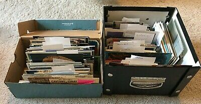 Lot 16+ Pounds Of Unused Travel Postcards from Around the World