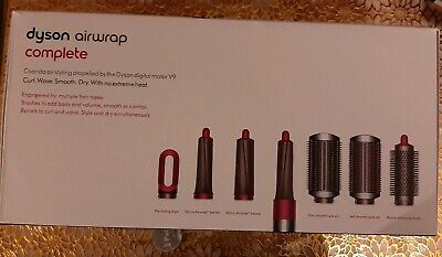 Dyson Airwrap Complete Multi Hair Styler (Nickel/Fucshia) Excellent condition