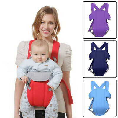 Newborn Infant Comfort Adjustable Baby Carrier Sling Backpack Wrap Cloth Straps