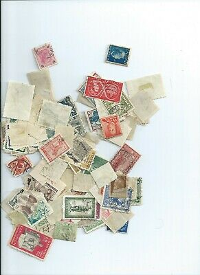 Lot of 200 mixed stamps, oOff papaer World Wide