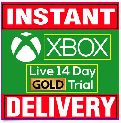 XBOX LIVE GOLD - 14 DAYS (2 weeks) Gold Membership (XBOX ONE ONLY)
