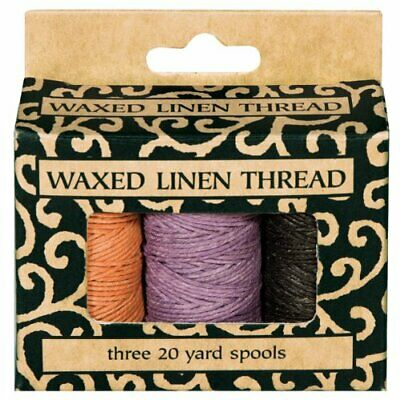 Lineco BBHM206 Books By Hand Waxed Linen Thread