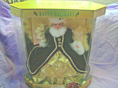 1996 Happy Holidays Barbie Doll Special Edition
