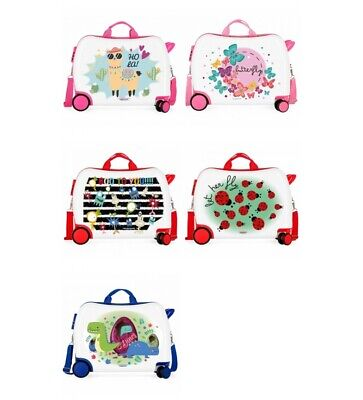 Movom - Valise avec 2 roulettes multidirectionnelles Movom Butterfly -38x50x20cm