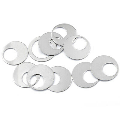 10Pcs Stainless Steel Open Round Circle Rings Charms Pendants DIY Jewelry Making