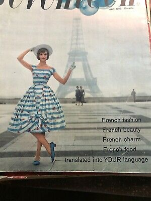 SEVENTEEN Magazine French Fashion Special France Issue April 1958