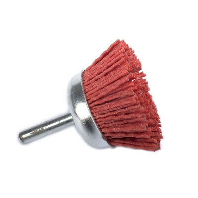 50mm Abrasive Wire Brush Cup Nylon Wire Wheel Grinding Polishing Rotary Tool #80