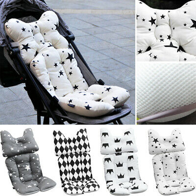 1x Thick Baby Breathable 3D Air Mesh Cotton Soft Seat Pad Liner for Stroller Car