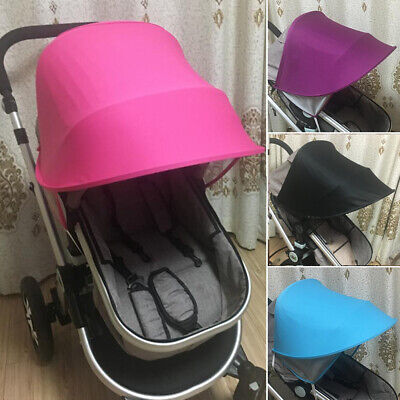 Baby Stroller Sunshade Canopy Cover Anti-UV Mosquito Net Sun Shield Protect