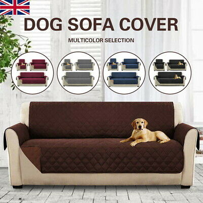 Sofa Cover Anti Slip Throw Seat Couch Covers Protector Dog Cat Pet Waterproof