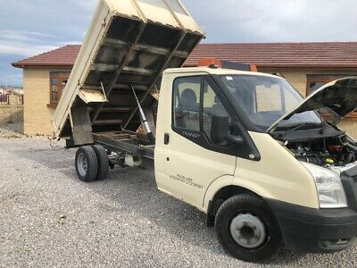 ford transit tipper 2007