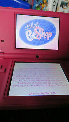 Nintendo Dsi  Pink Pre Loved in Excellent Condition with Games and Charger Cord