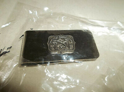MINT in Pkg 1986 Hesston National Finals Rodeo Money Clip - Sealed