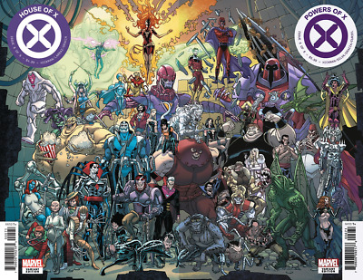 House Of X + Powers Of X #6 Garron Connecting Variant Set 10/9