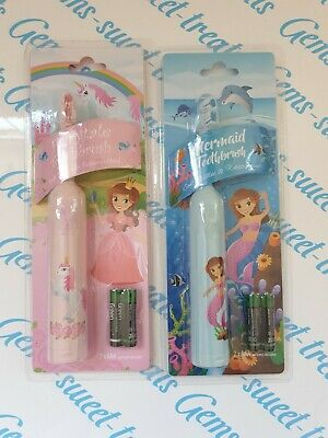 Childrens Battery Powered Electric Toothbrush fairytale mermaid 1 supplied