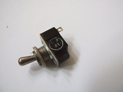 GPO Post Office Heavy Duty Toggle Switch SPST Short Toggle