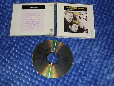 Depeche Mode - The Singles 81-85 - CD album 1985 (MUTE) NO BARCODE