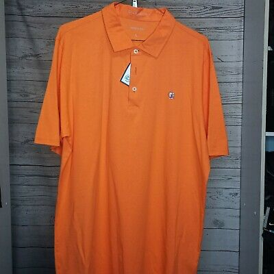 B. Draddy Men's Sz Large Golf Polo Color: Crush
