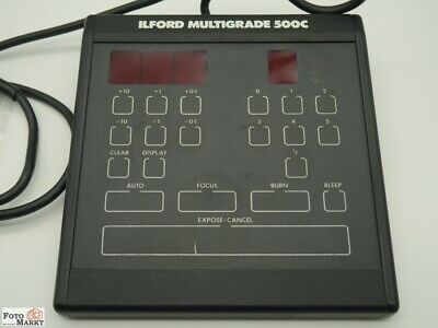 Ilford Multigrade 500C Control Unit Tester for Magnifier with Head 500