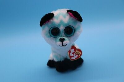 "Claire/'s Exclusive Ty Beanie Boos ~ PIPER the Chevron Fox 8-9/"" Buddy Size NEW"